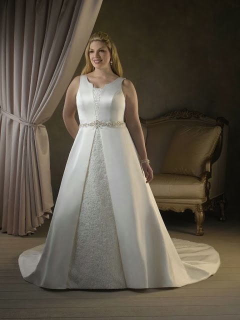 Maravillosos Vestidos de novias para Gorditas   vestidoa   Pinterest ...