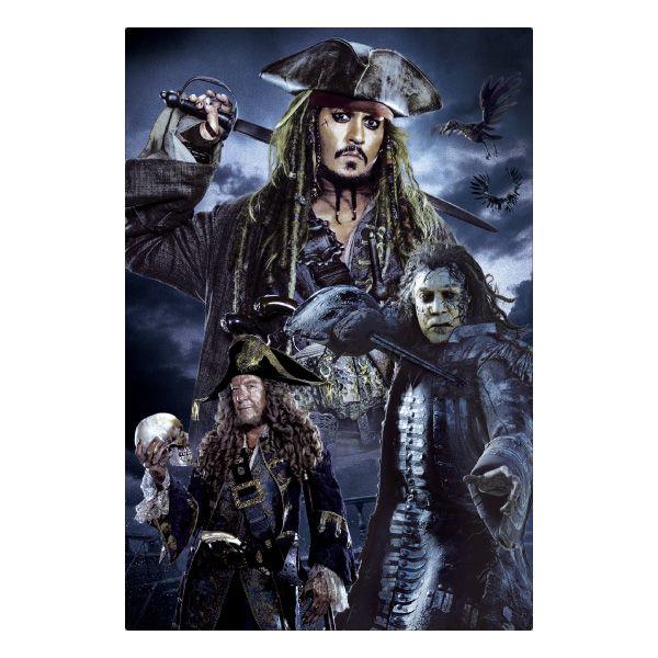 3Dポストカード パイレーツ・オブ・カリビアン5/  最後の海賊 001 Captains S3758