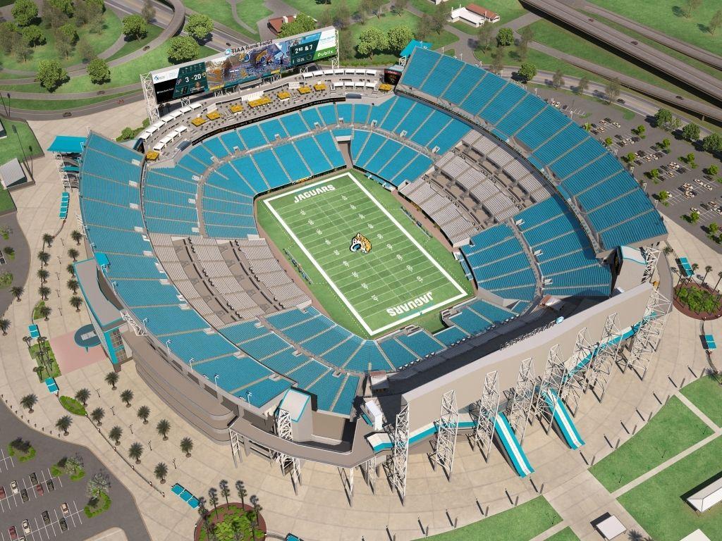 Everbank Field Seating Chart With Rows Everbank Field Jacksonville Jaguars Nfl Stadiums