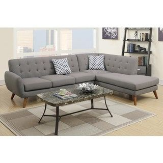 For Ayrum Sectional Sofa Upholstered In Poly Fiber Get Free Delivery At