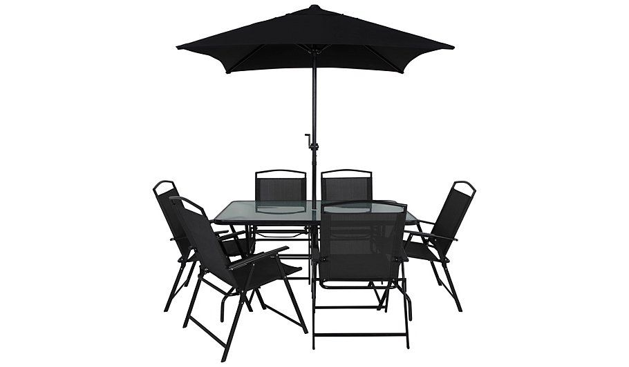 Superbe Buy Miami 8 Piece Patio Set   Charcoal From Our Garden Furniture Range  Today From George At ASDA.