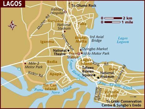 lagos nigeria | Map of Lagos | SUSAN PIX | Pinterest | Nigeria map