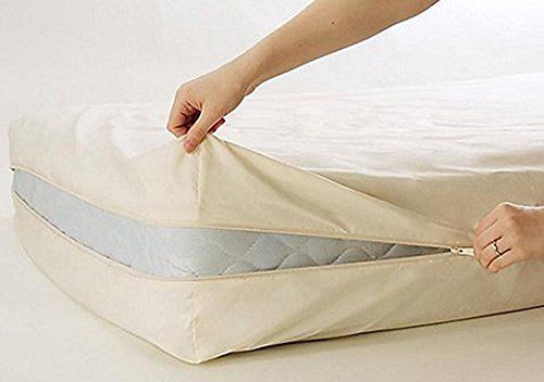 100 Cotton Fleetwood Cotton Mattress Cover Twin Size Zips Around The Mattress With Images Mattress Covers