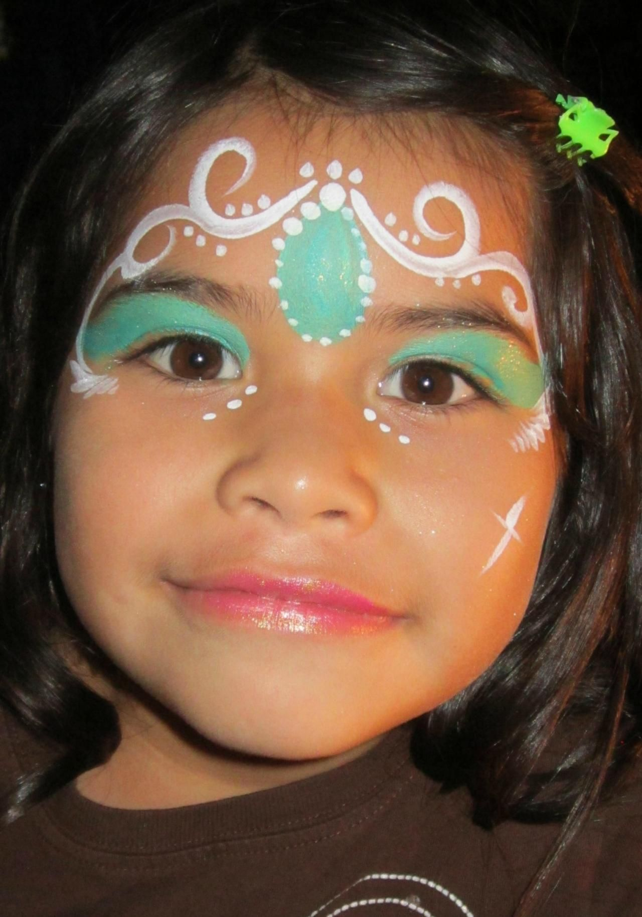 Face painting princess designs the for Latest face painting designs