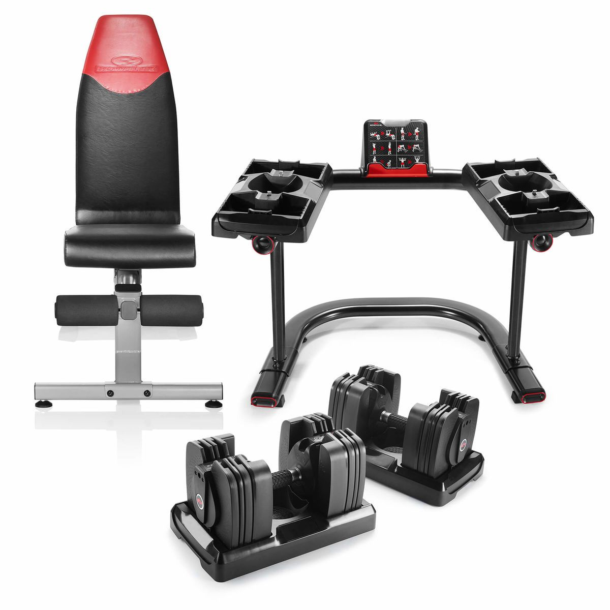 Bowflex Selecttech 560 Dumbbells Bundle For 599 Bowflex Bowflex Bench Dumbbells