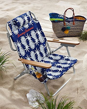 Tommy Bahama - Pineapple Deluxe Backpack Beach Chair This chair got