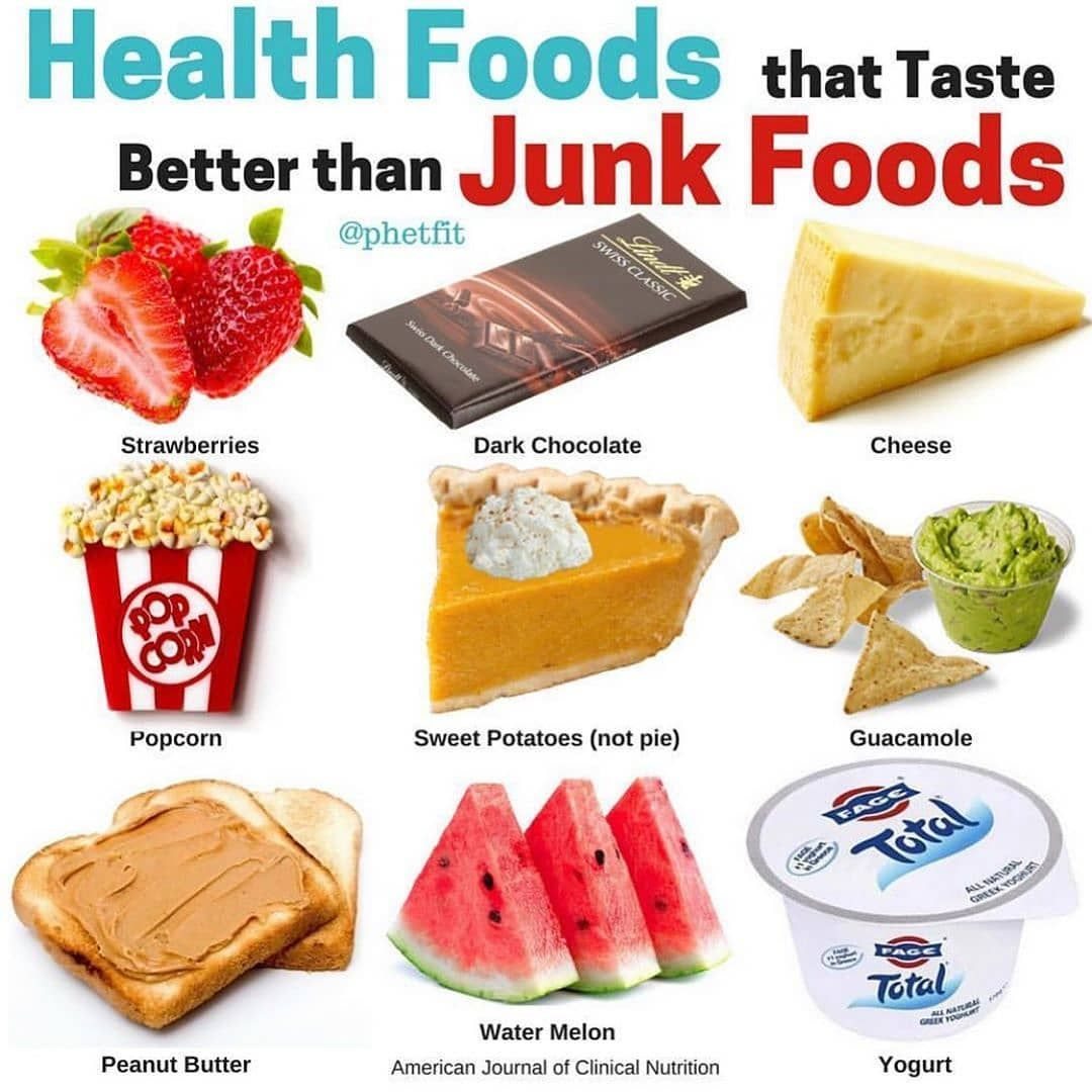 Health Foods That Taste Better Than Junk Foods With