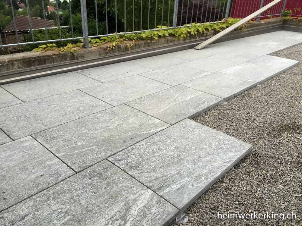 Gut Abgezogenes SplittBett Vereinfach Das Verlegen Der - Splittbett für terrasse