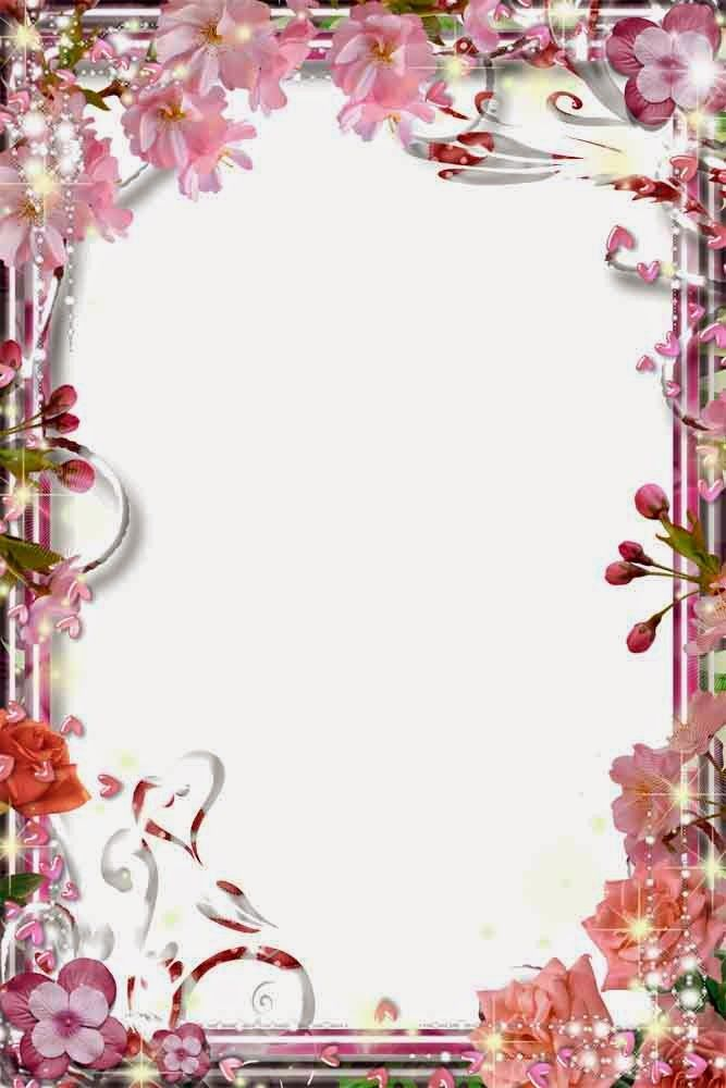Pin by Nadiusk Vhz on Bordes | Pinterest | Frame, Flower frame and ...