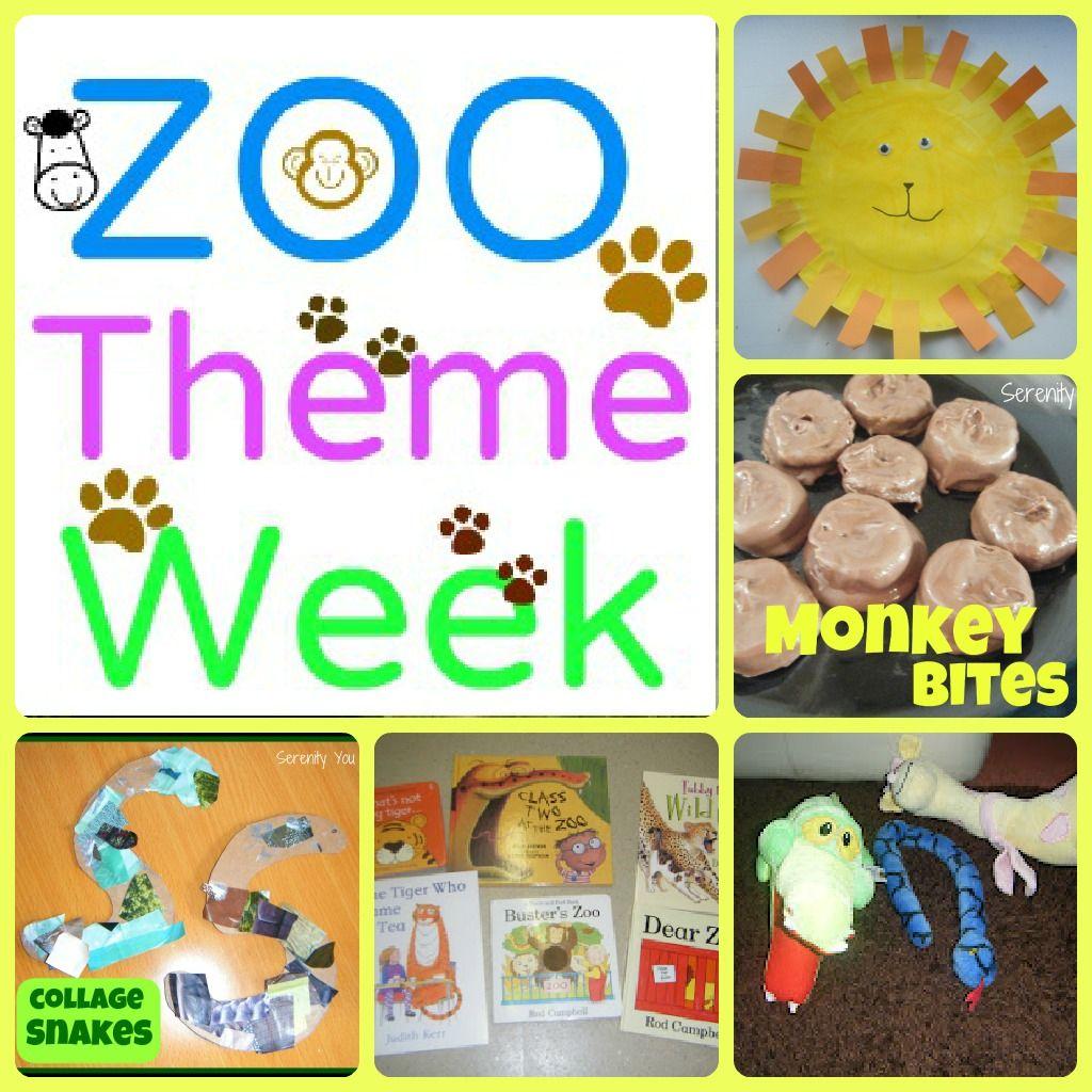 Theme Week Zoo Week Zoo activities, Preschool zoo
