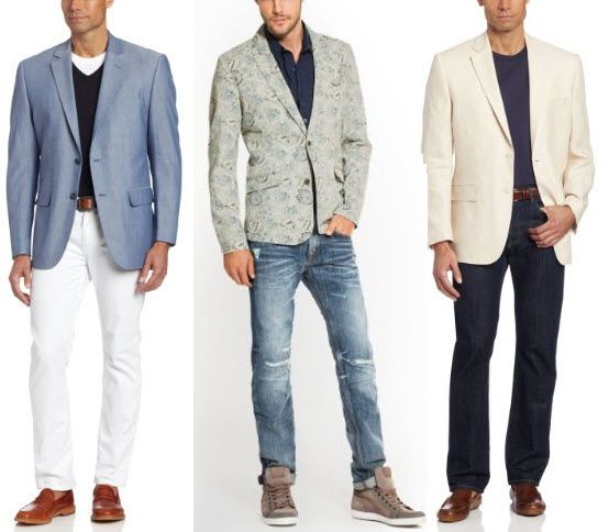 Summer blazers for men | ChoozOne | Things to Wear | Pinterest ...