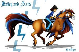 Bailey And Aztec By Audry22