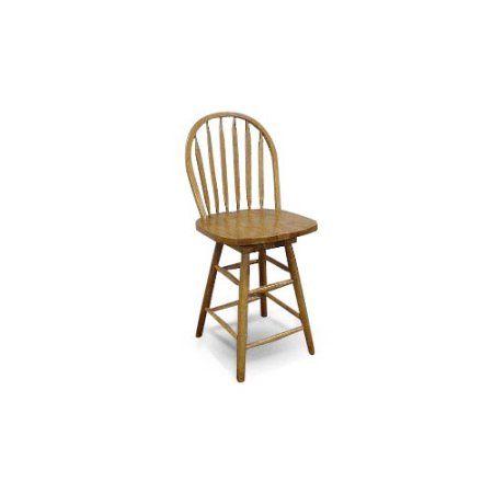 25 Inch Swivel Barstool With Back Bar Stools Oak Bar Stools Decor