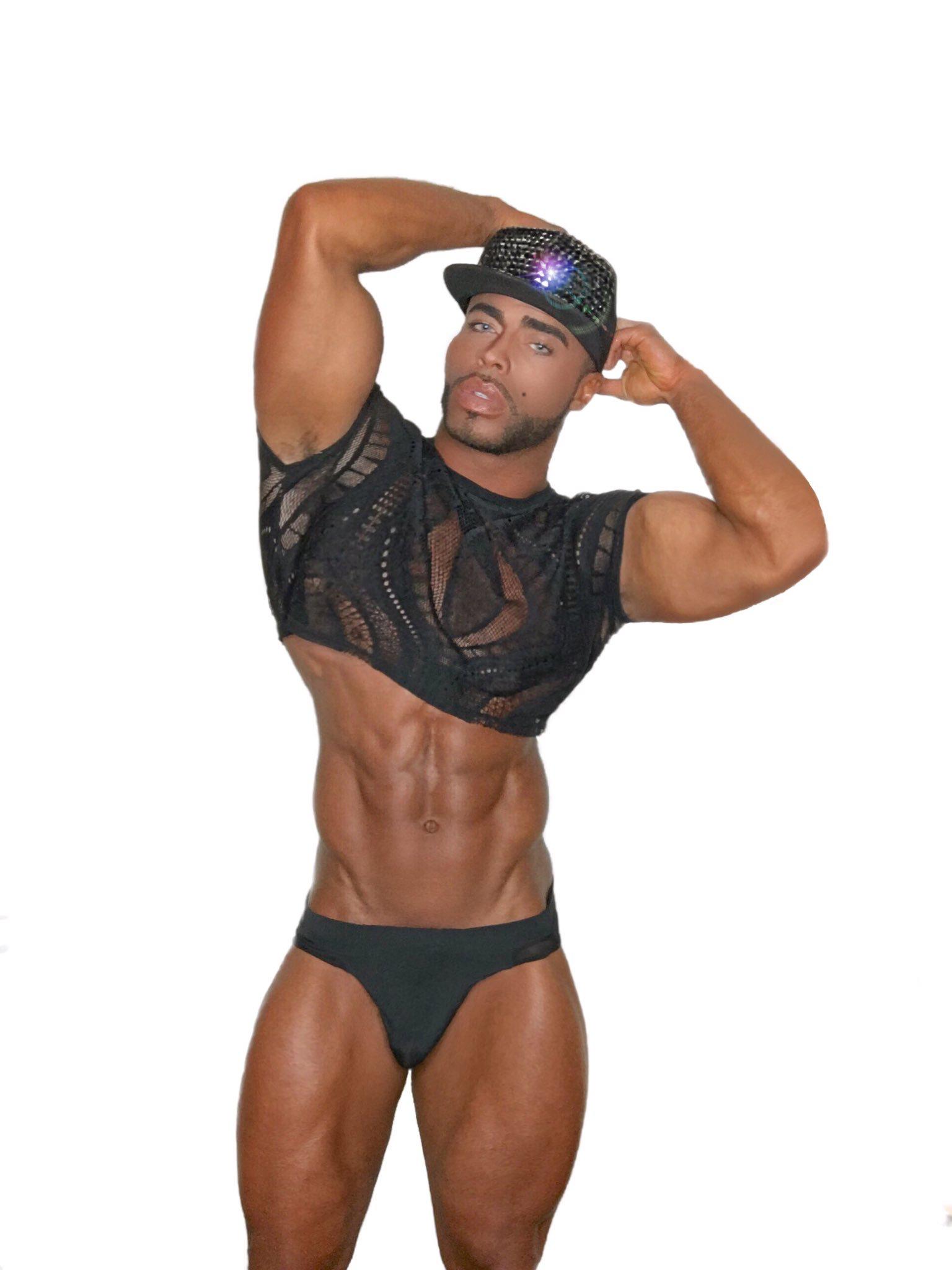 abb0ca9fcc2e Hot Black Guys, Black Men, Black Underwear, Men's Undies, Black Beauty,