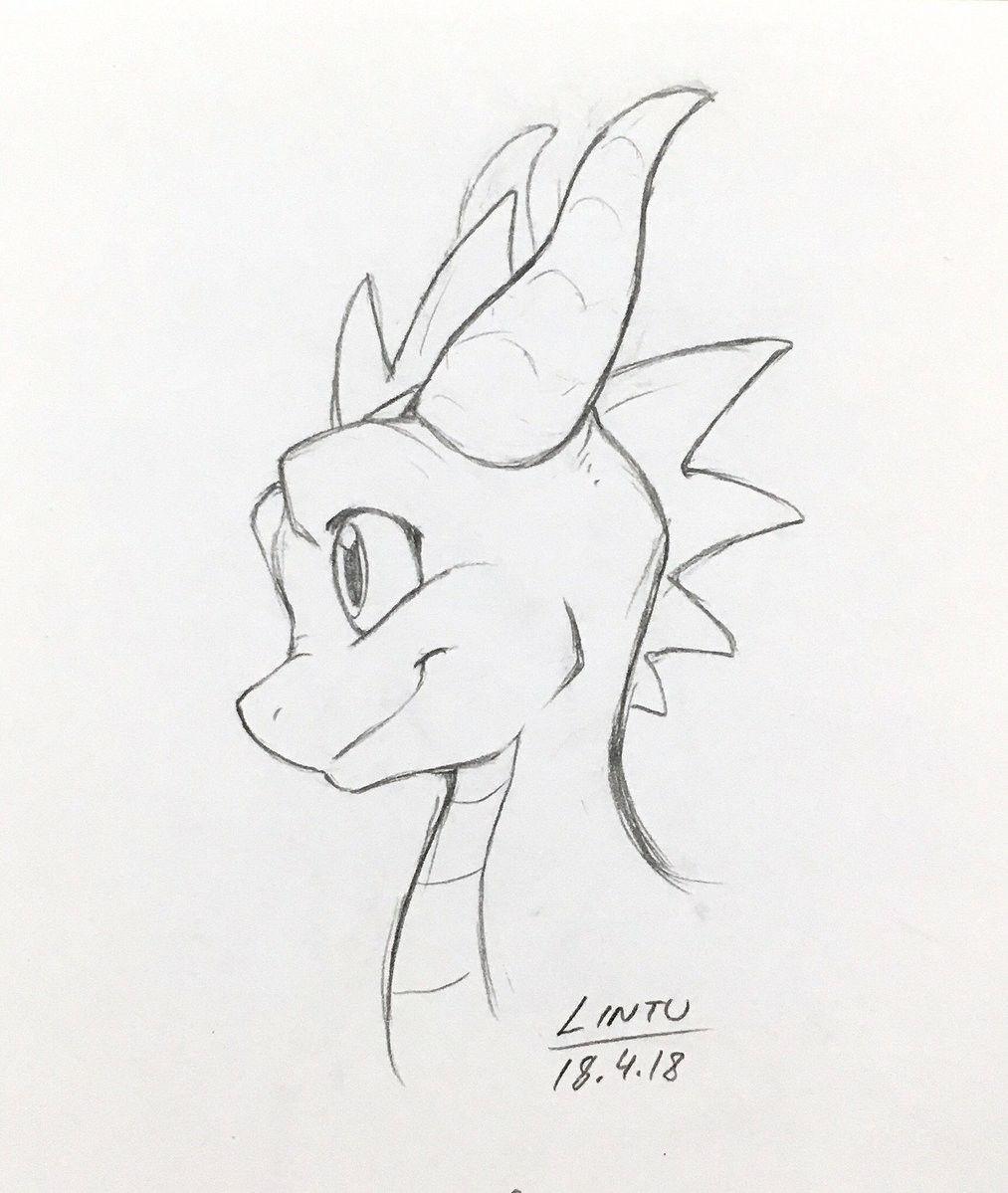 Épinglé par nathali roa sur Spyro  Dessin de dragon, Dessin de