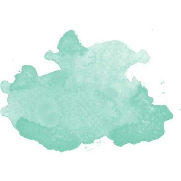 Seafoam Watercolor Splatter Watercolor Splash Watercolor