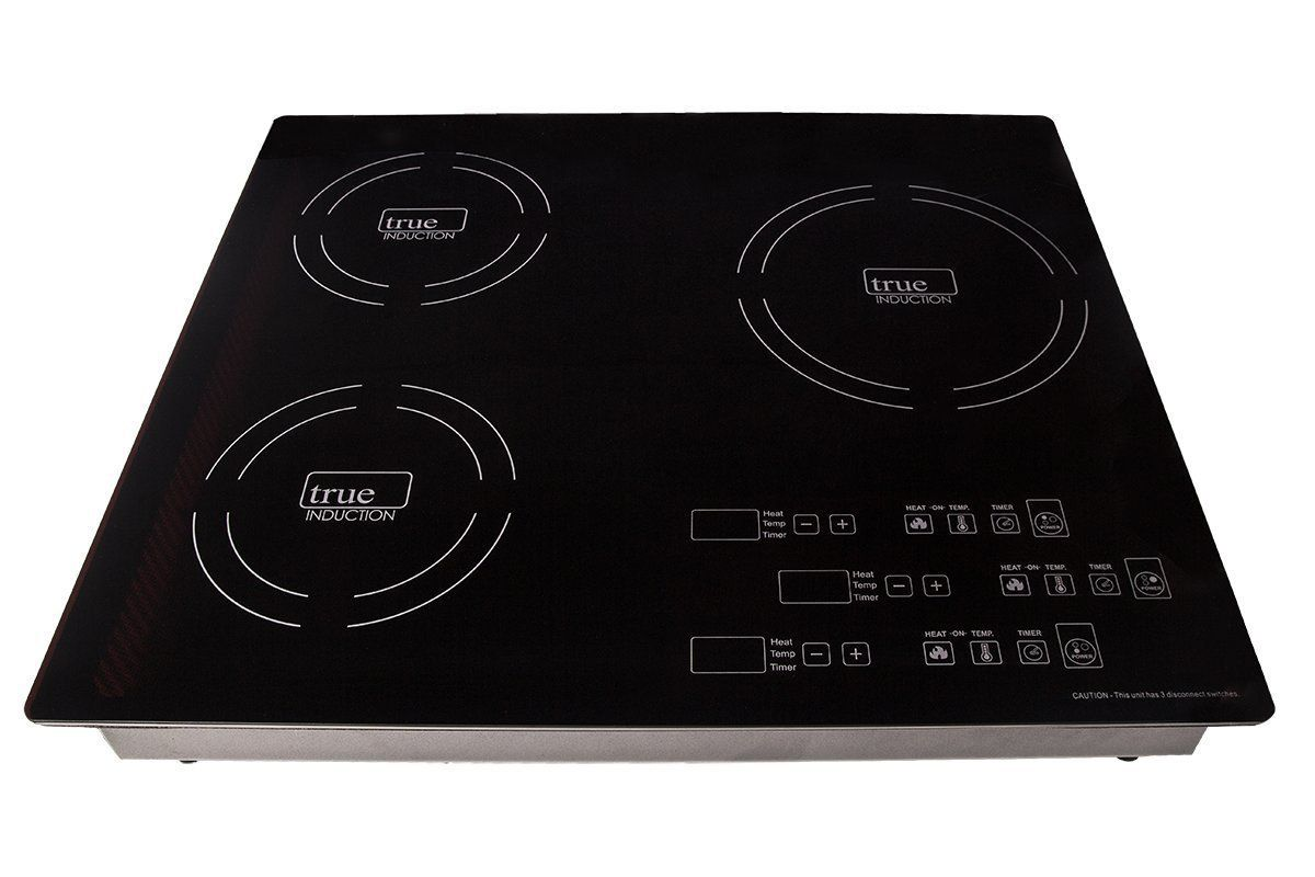 True Induction Ti 3b Triple Burner Induction Cooktop Induction