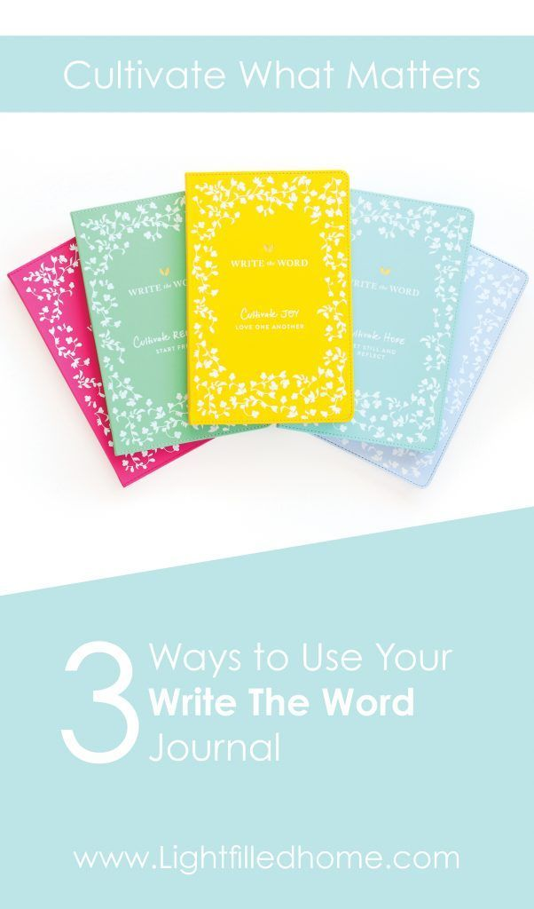 Write the Word Journal Journal