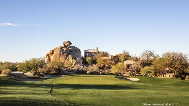 The Boulders in Carefree was named the best resort in the state.