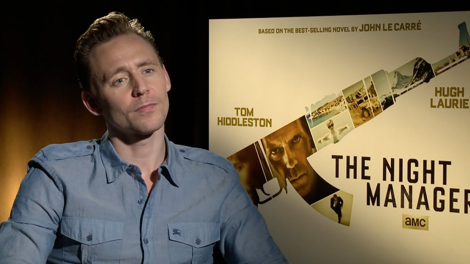 Tom Hiddleston On 'The Night Manager' & Presenting At The
