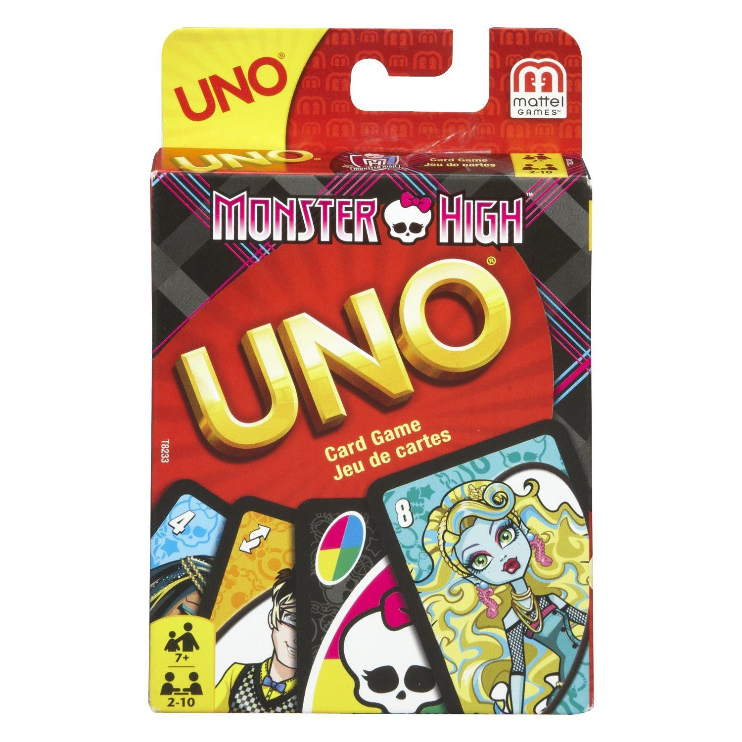Monster High UNO Card Game The classic game of UNO gets a