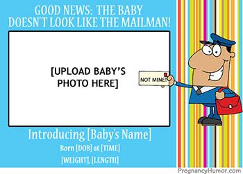 baby birth announcements email