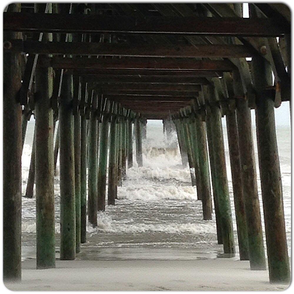 Garden City pier, South Carolina