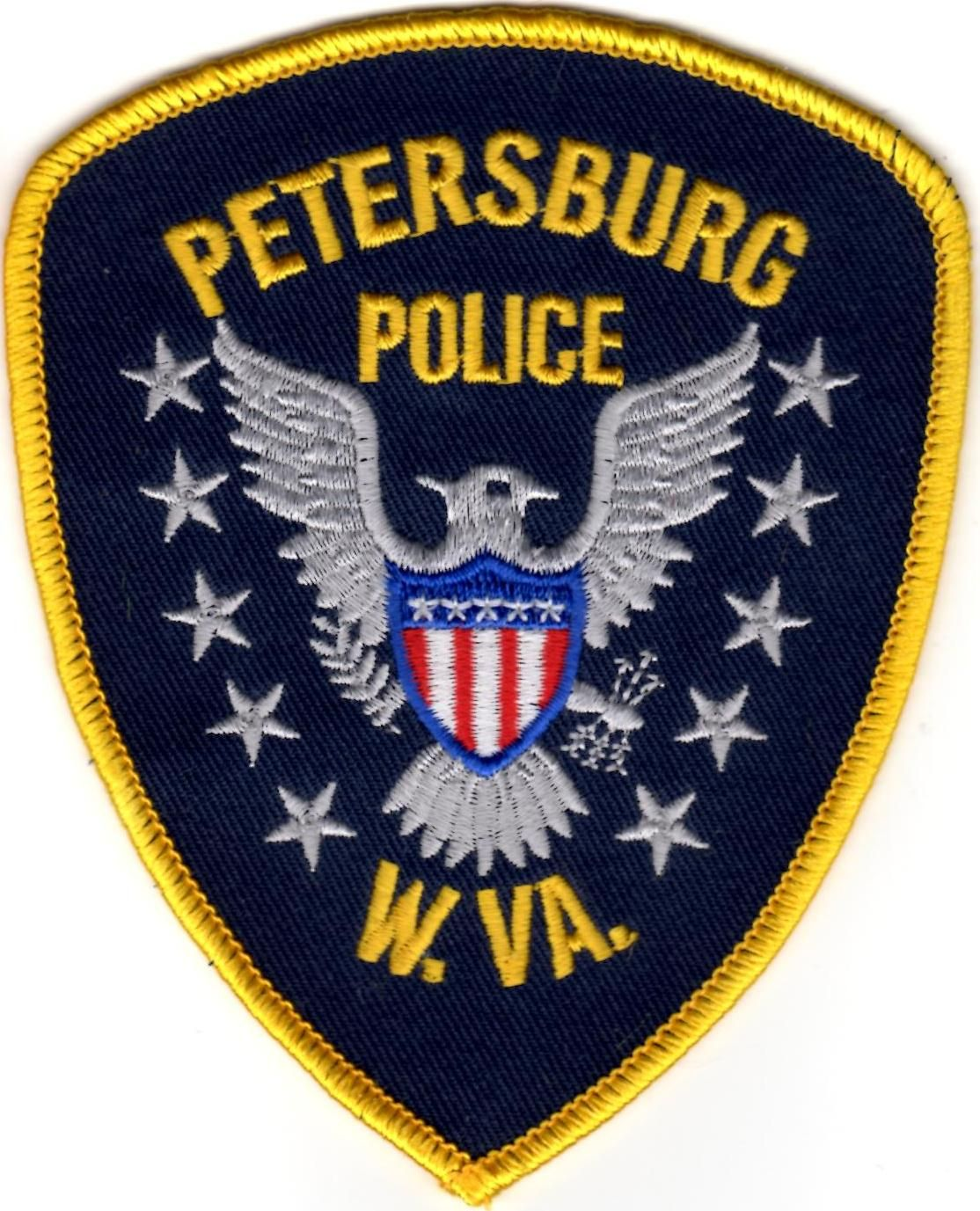 Petersburg Police West Virginia WV Police, Patches
