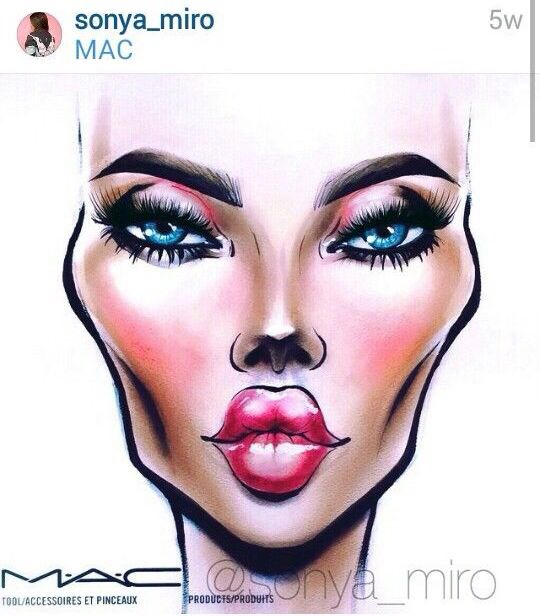 face chart face charts pinterest mac face charts