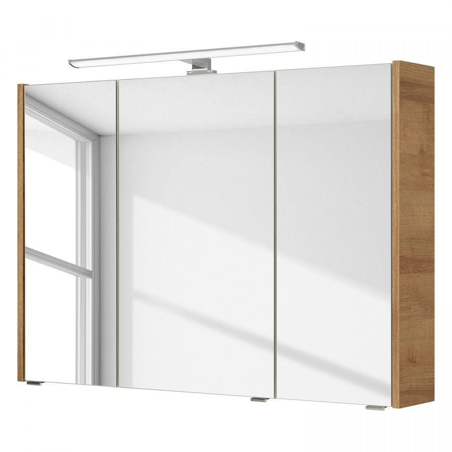 Spiegelschrank Rovato Eiche Riviera Dekor Cabinet Furniture