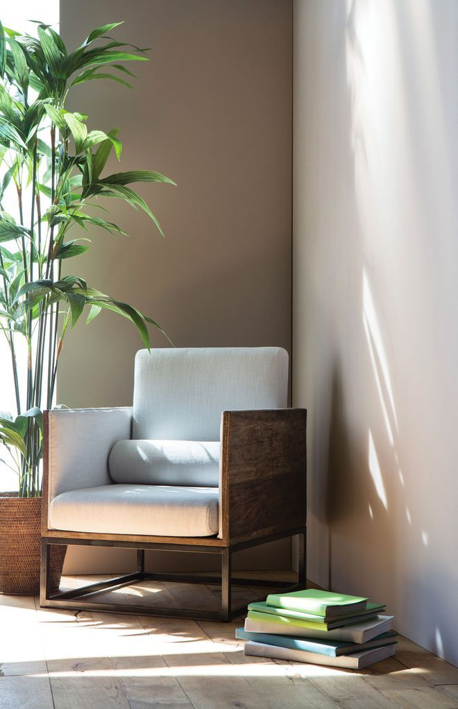 une peinture l gante pour un salon lumineux cuisine salon pinterest salons lumineux. Black Bedroom Furniture Sets. Home Design Ideas