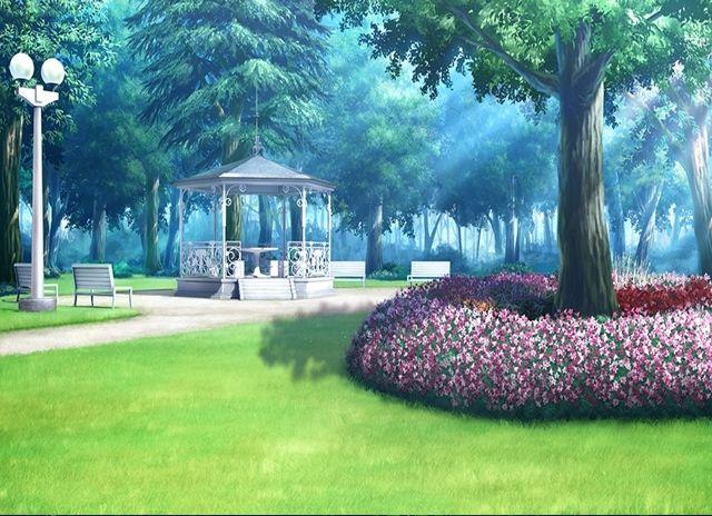 ผลการค้นหารูปภาพสำหรับ garden anime scenery