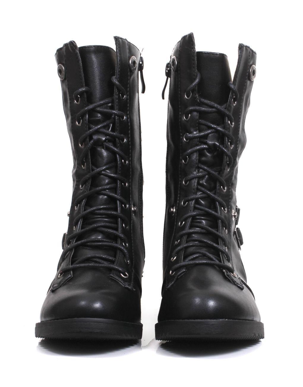 3c177d4fa6758 Bottine à lacets fourré noir femme pas cher   model   Clothes, Model ...