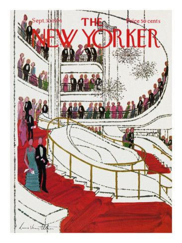 The New Yorker Cover - September 30, 1974 Poster Print by Laura Jean Allen at the Condé Nast Collection