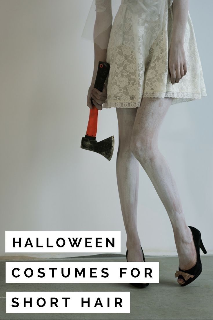 13 halloween costumes for short hair | valery brennan | edgy style