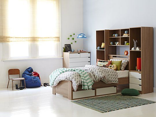 Calypso Single Bed Frame Plus Under Bed Drawer Overhead Unit And - Overhead storage bedroom furniture
