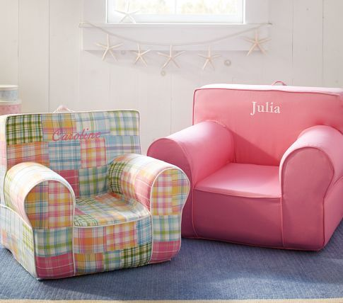would love a pottery barn chair (or one like it) for her big girl ...
