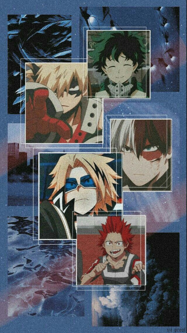 Pin by nagisa on Fondos | Anime wallpaper, Hero wallpaper, Aesthetic a