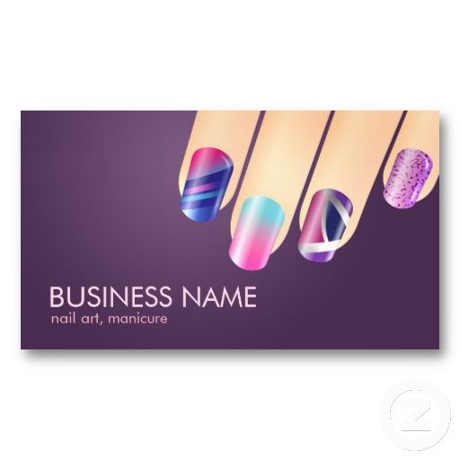Gel or acrylic nail business card other creations pinterest gel or acrylic nail business card reheart Images