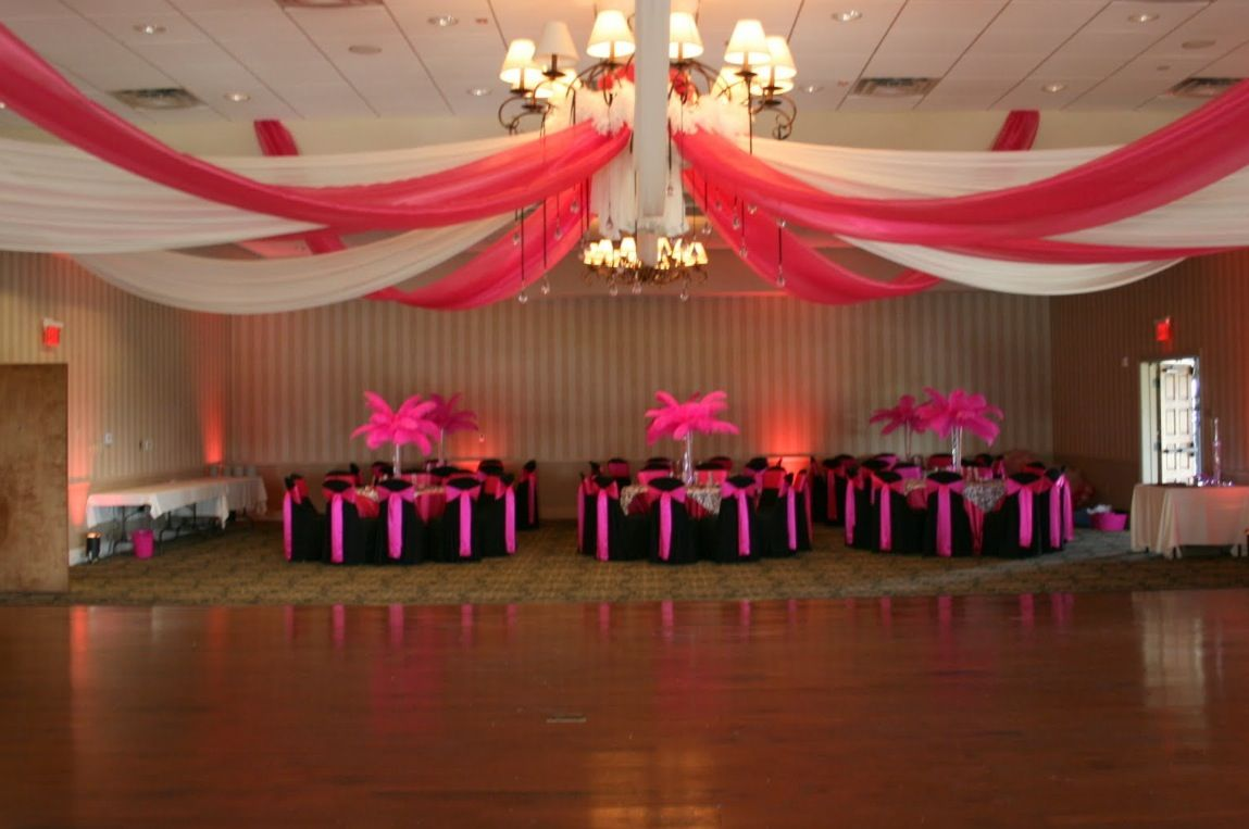 Wedding hall decoration images  Pin by Ashley on Birthday ideas  Pinterest  Birthdays