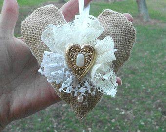Handmade Christmas ornament Lace Ornament by Mydaisy2000