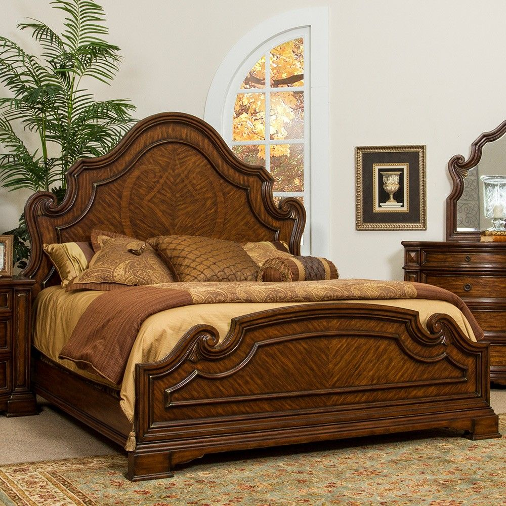 Fairmont Designs Devonshire Wood Panel Bed in Palazzo by ...