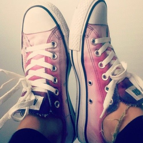 fc24086c251b I ombre-d my originally purple converse with bleach!!  ombre  diyombre  diy   ombreshoes  converse