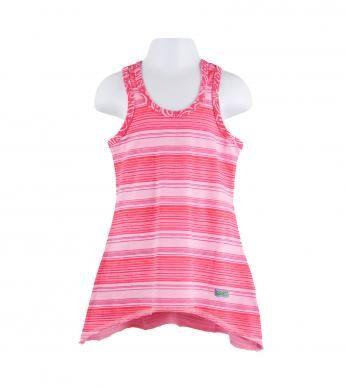 essentials tropic stripe racerback tunic in soul