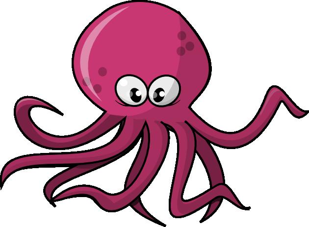 octopus clipart clipart panda free clipart images stuff for rh pinterest com octopus clipart vector free Cartoon Octopus