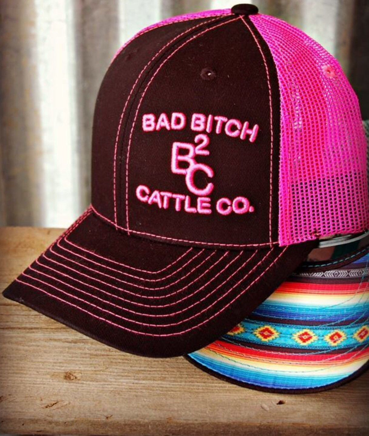 dad31bf4e42e4 Bad B Cap ~ Pink