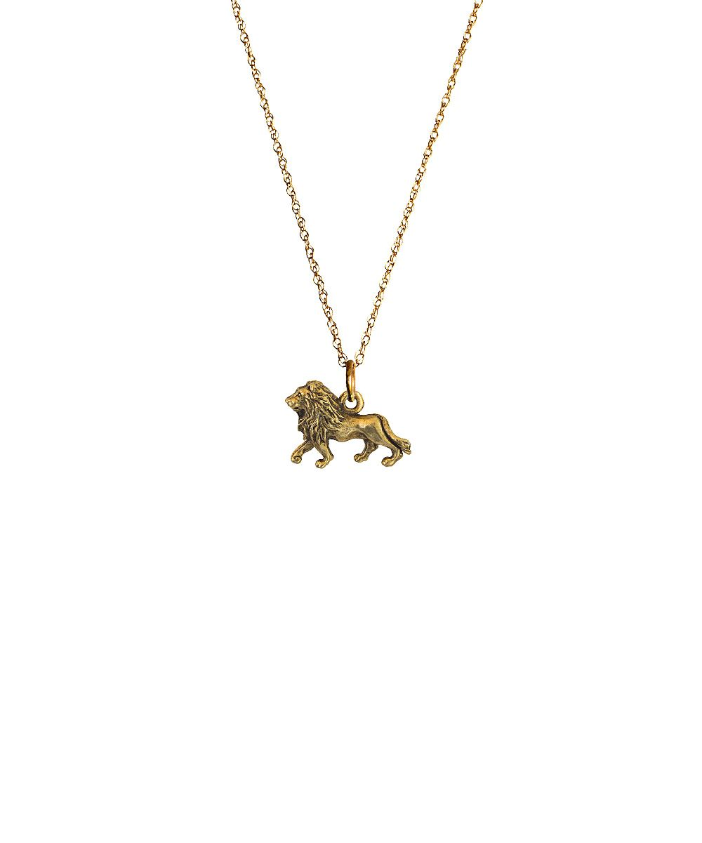 Antiqued gold lion pendant necklace daily deals for moms babies antiqued gold lion pendant necklace daily deals for moms babies and kids aloadofball Choice Image