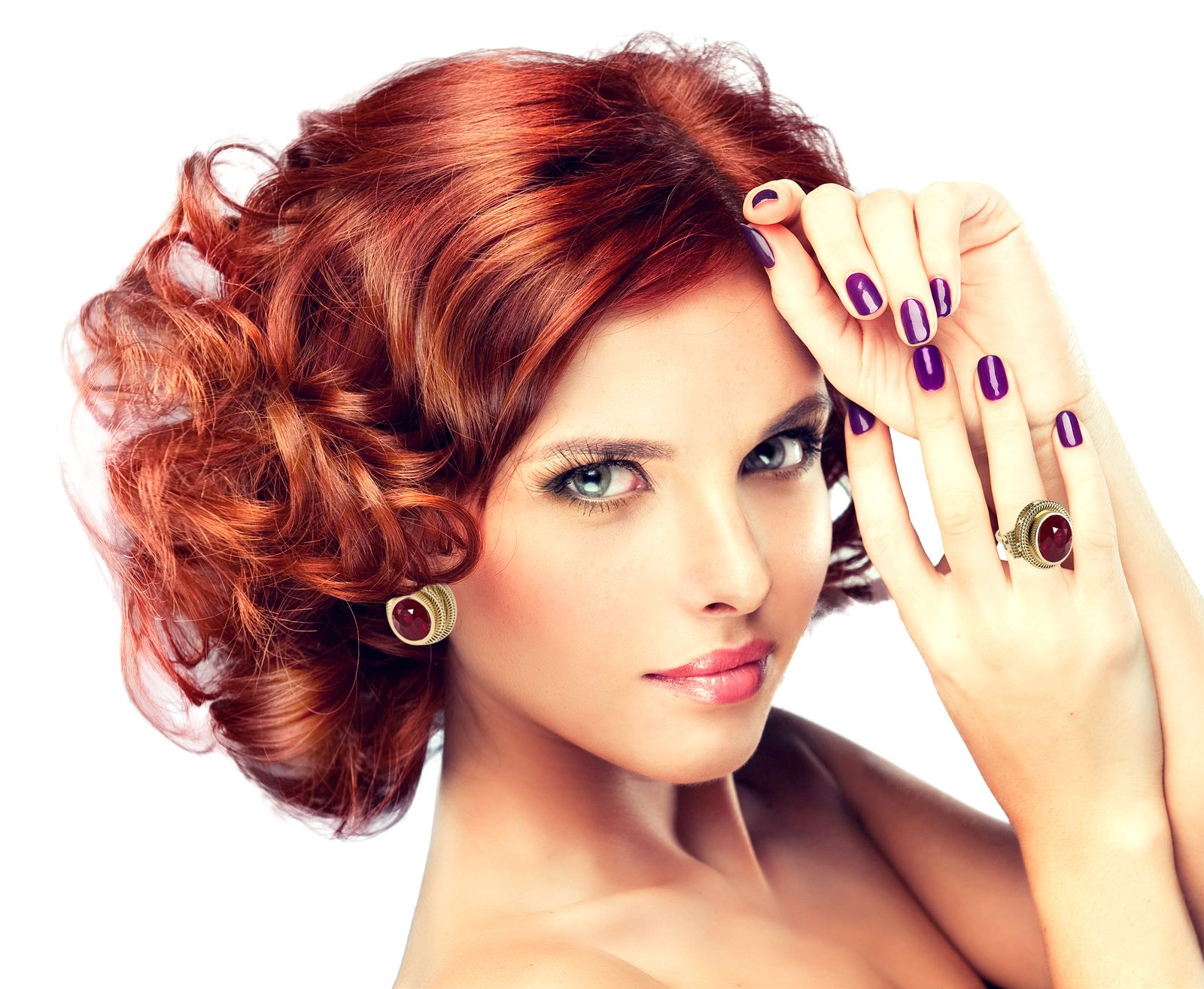 Pin by JEWEL COUTURE LLC on Jewelry Red hair makeup, Red
