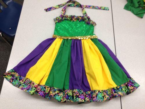 Toddler Mardi Gras Dresses