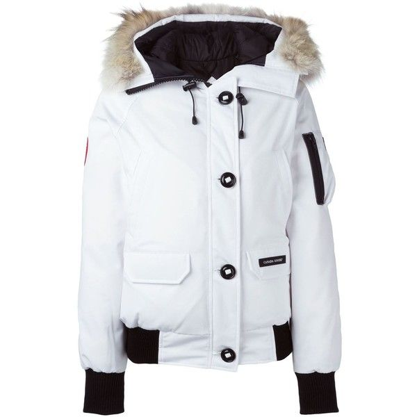 Canada Goose fur lined parka (€710) ❤ liked on Polyvore featuring ...